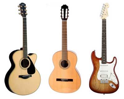 77 tutoriales para guitarra
